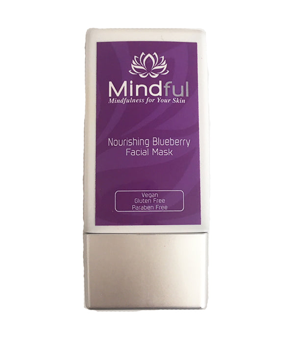 Mindful Skincare Nourishing Blueberry Facial Mask - Journey Edition