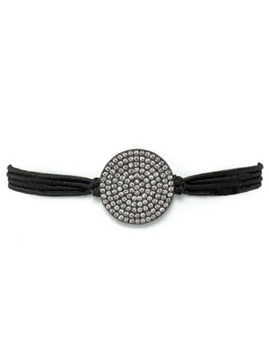 Gemtye Posh Gunmetal Disc - Medium/Large