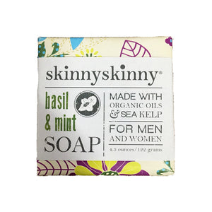 Skinnyskinny Basil & Mint Soap | ON SALE 40% OFF
