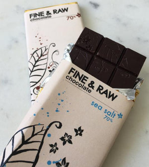 Fine & Raw Dark Chocolate Bar