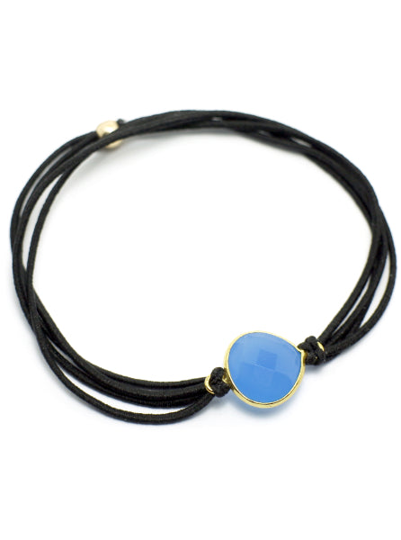Gemtye Hippie Chic Blue Topaz - Medium/Large