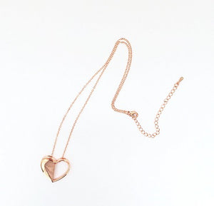 Exclusive Durrah x LOVE GOODLY Custom Anniversary Heart Necklace