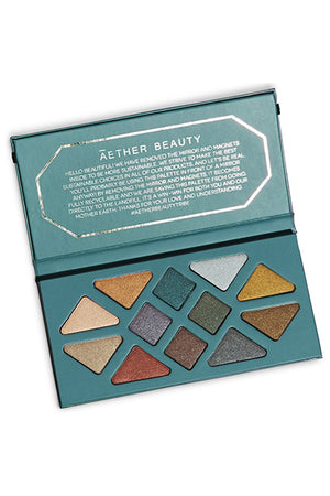 Aether Beauty Crystal Grid Gemstone Palette