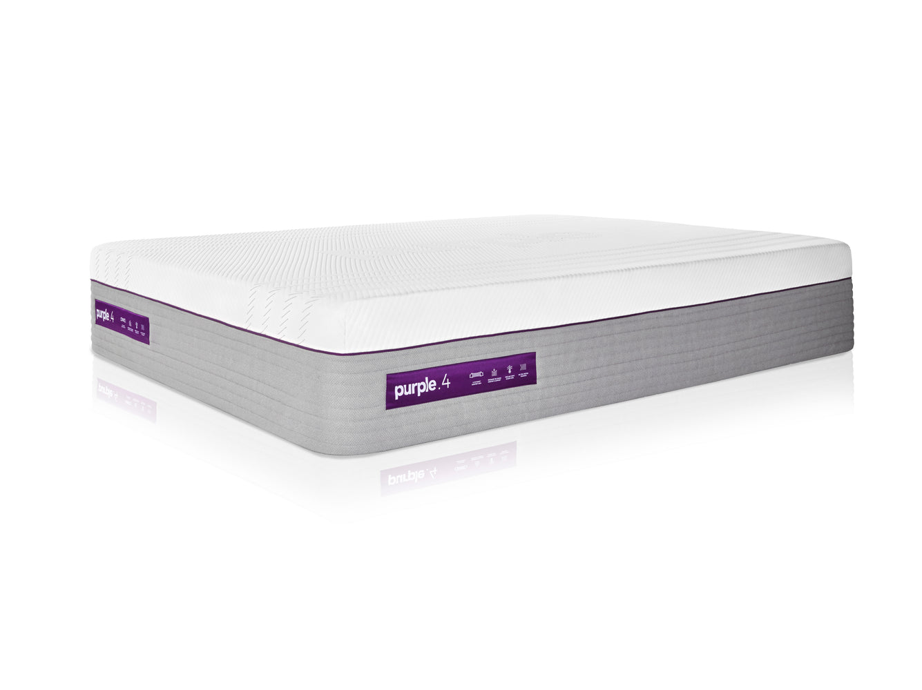 The Purple 4 Hybrid Premier Mattress