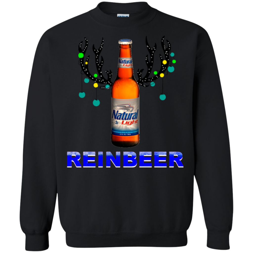 Reinbeer Natural Light Christmas Shirt Salalashirt