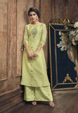 Praiseworthy Art Silk Embroidered Party Wear Kurti