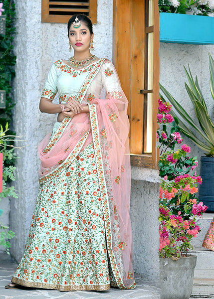 Grab This Very Beautiful And Heavy Designer Lehenga Choli