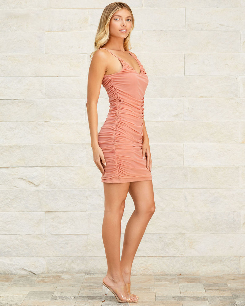 Jazmine Ruched Mini