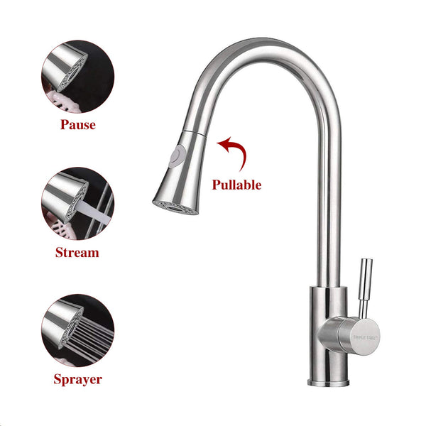 Monobloc Kitchen Tap -Faucet Sprayer