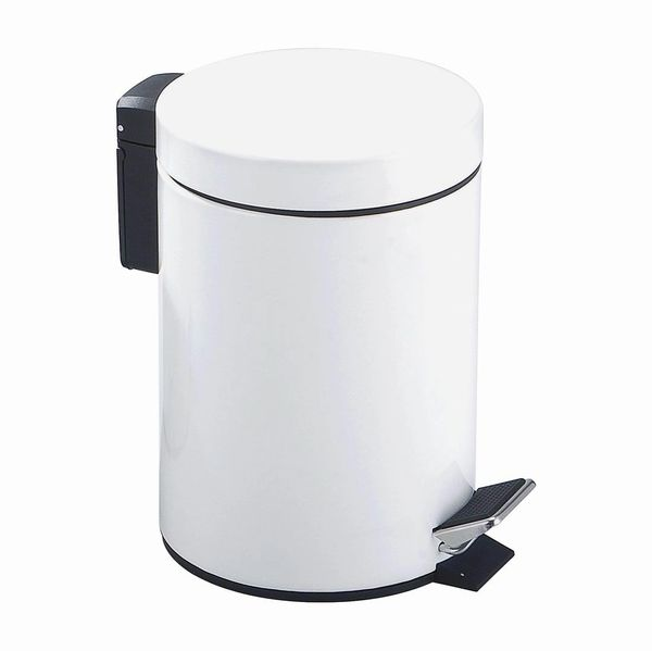 Pedal Bin Soft Close 3L WHITE