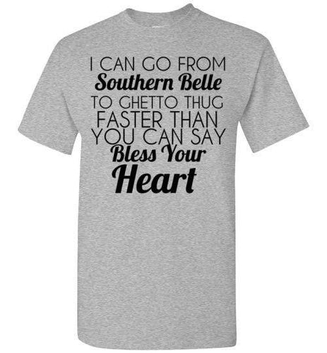 Southern Belle custom t-shirt - Funny Country Girl shirt - Custom Treats