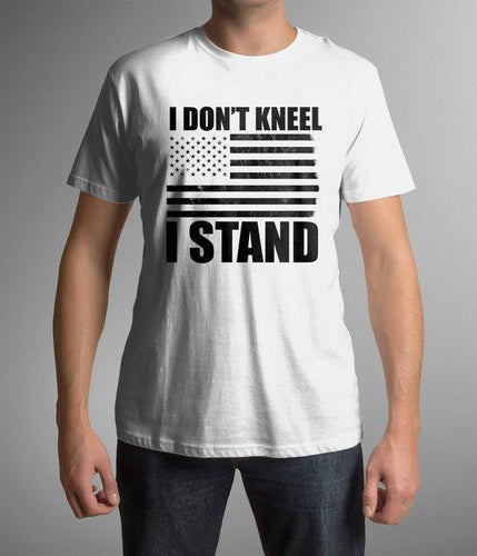 I Don't Kneel custom t-shirt - Custom Treats
