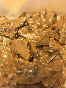 Pumpkin Seed Brittle - Spiced Pumpkin Seed Brittle - Artisan Candy