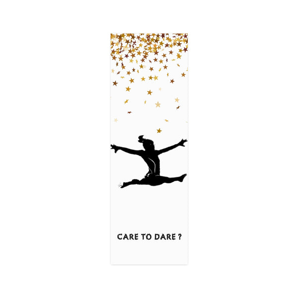 CARE TO DARE? ATHLETE Wall Art Poster in Two variations-[stardust]