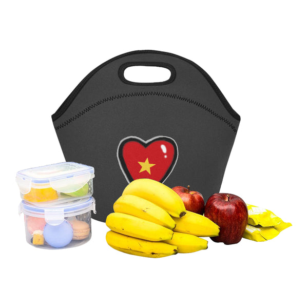 Tri Color Hearty Lunch Bag