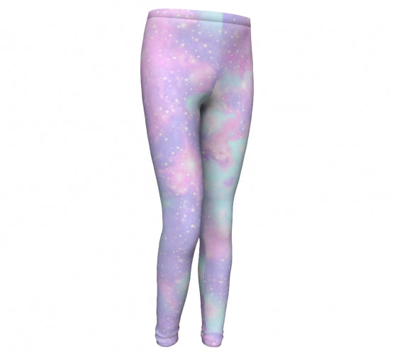 Galaxy , High Performance, Originally Printed Eco Friendly Leggings-[stardust]