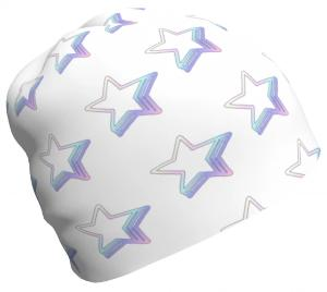 Starlight Pattern ,relaxed fit Beanie-[stardust]
