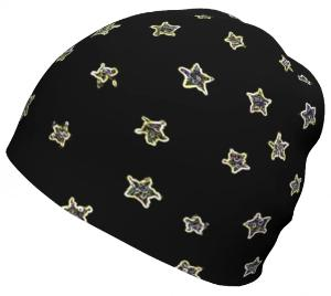 Neon Star, relaxed fit Beanie-[stardust]