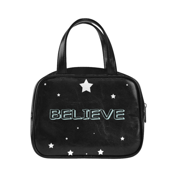 Believe, Top Handle Handbag-[stardust]
