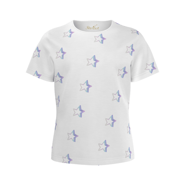 Starlight pattern, Eco Friendly,Super soft T-Shirt-[stardust]