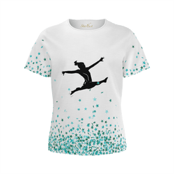 Care to Dare ? Athlete Tribute, Eco Friendly super soft T-Shirt-[stardust]