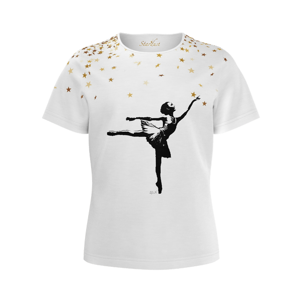 Care to Dare ? Dancer tribute, Eco Friendly, Super soft T shirt-[stardust]
