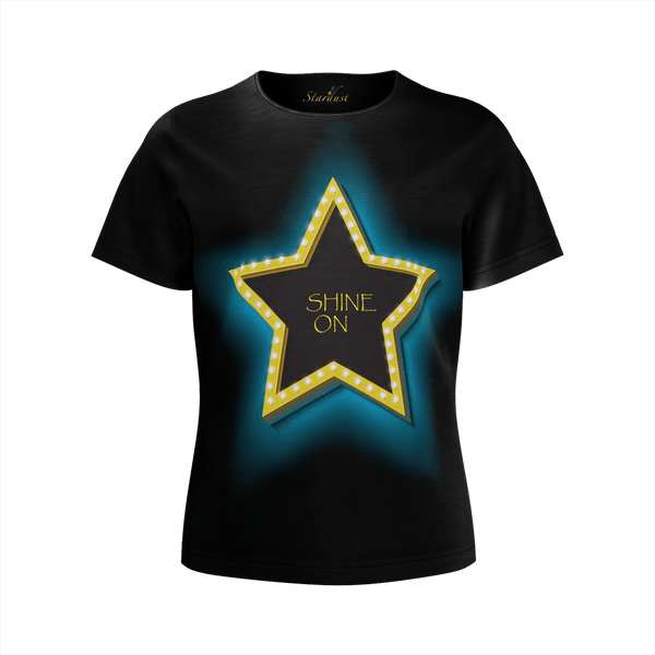 SHINE ON , Eco Friendly, Super soft T-Shirt-[stardust]