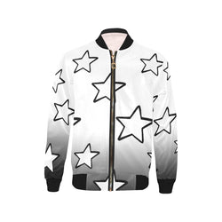 Faded Stars Bomber Jacket