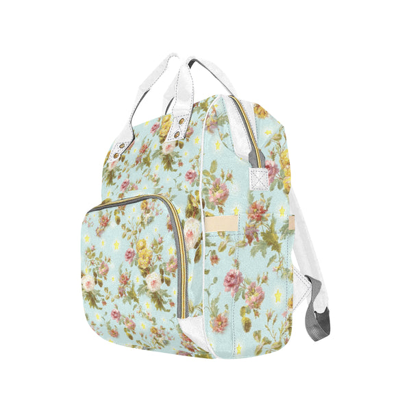 Baroque flowers N Stars Backpack