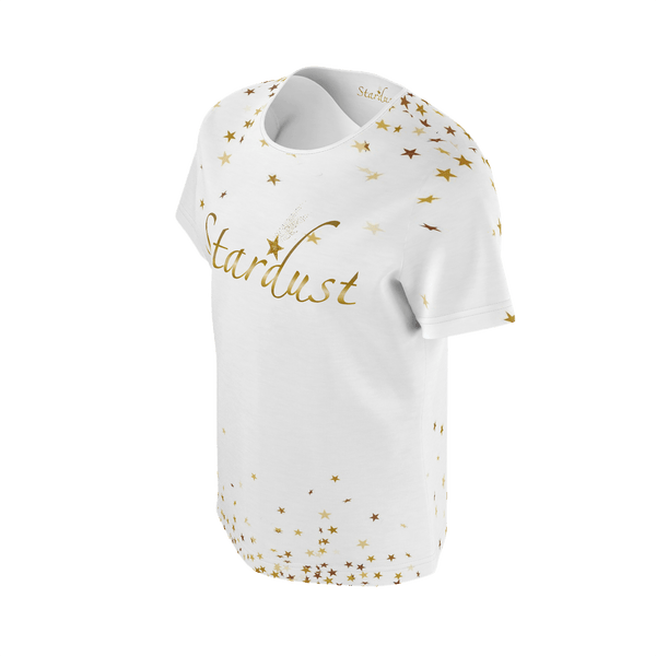 Stardust Staburst, Eco Friendly white T-shirt-[stardust]