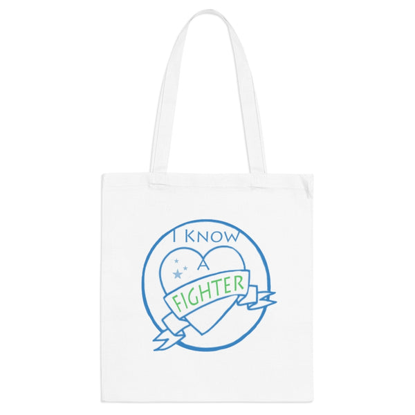 I know a Fighter / I am a Fighter , Tote Bag, END NF