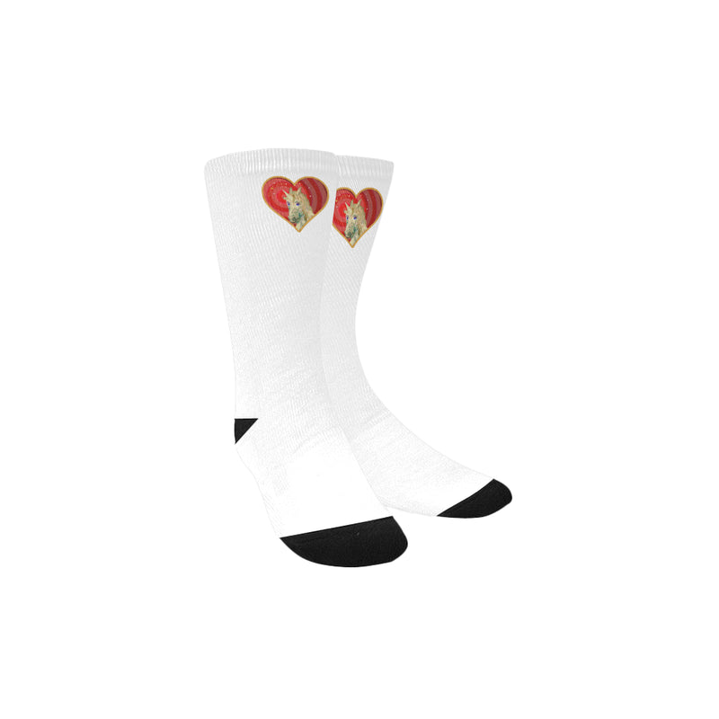 Unicorn Love socks Kid's Custom Socks-[stardust]