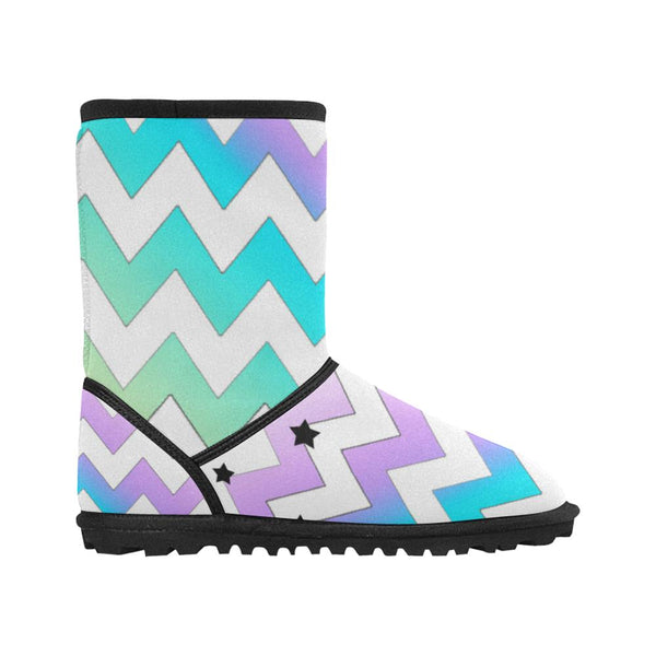 Chevron Winter Boots - Stardust
