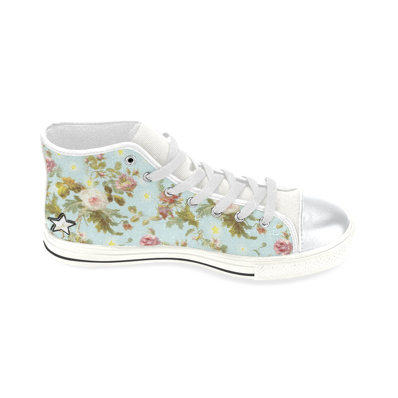 Baroque flowers N Stars Lace up shoes