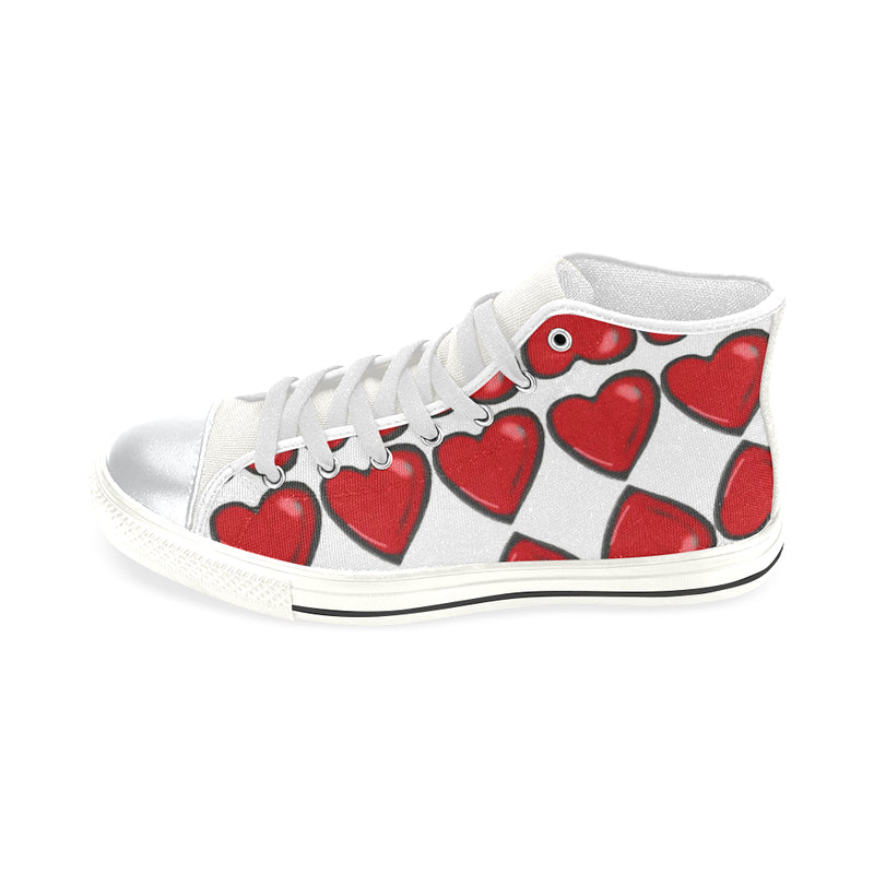 Chain of hearts Lace up shoes