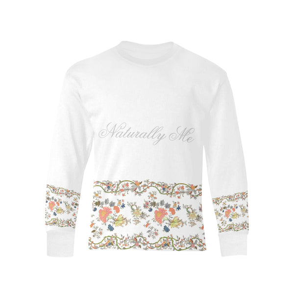 Naturally me, Pink oriental Long sleeve T-Shirt