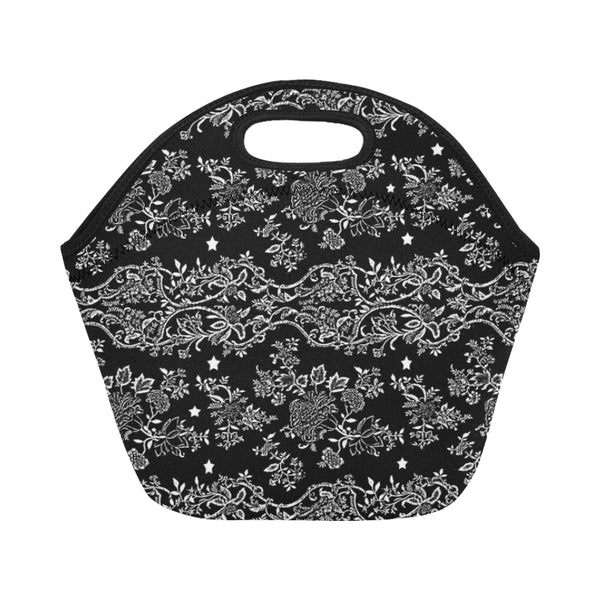 Lace N stars Black or White Lunch Bags