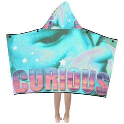 Curious ,Hooded Towel-[stardust]