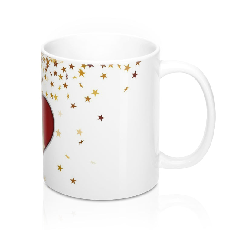 Unicorn Heart Mug 11oz-[stardust]