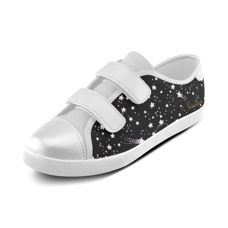 Glittery Sky,Velcro Canvas Shoes-[stardust]