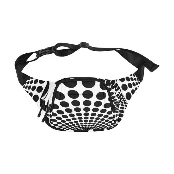 Black Dot Waist Bag, Pouch-[stardust]