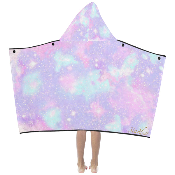 Galaxy, Hooded Bath/Beach Towel-[stardust]