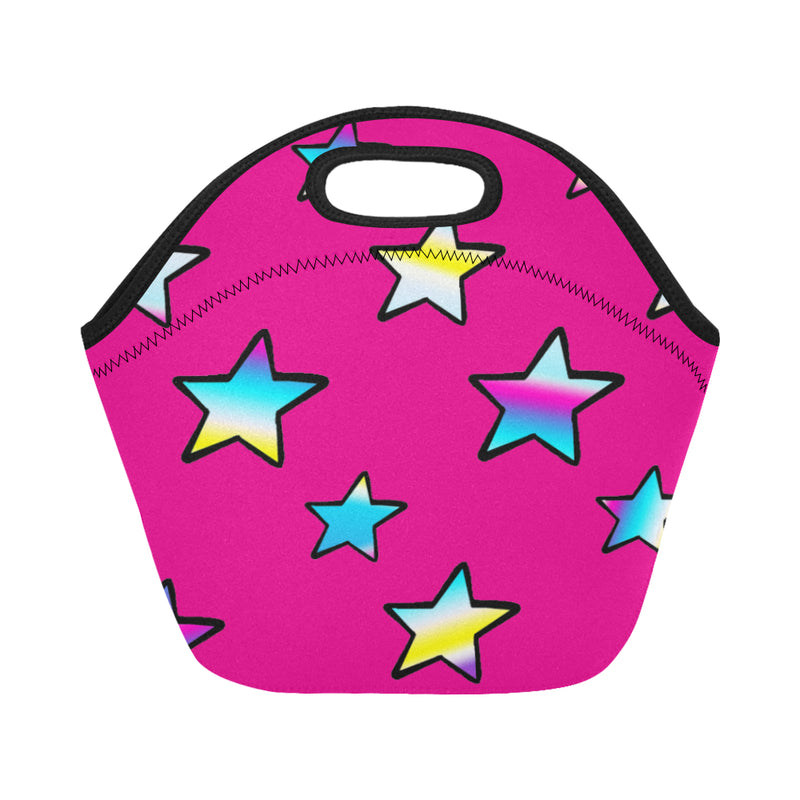 Rainbow stars Lunch Bags