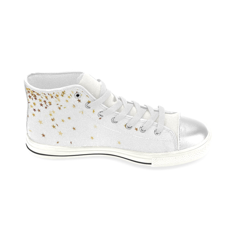 Starburst , High Top Canvas Shoes-[stardust]