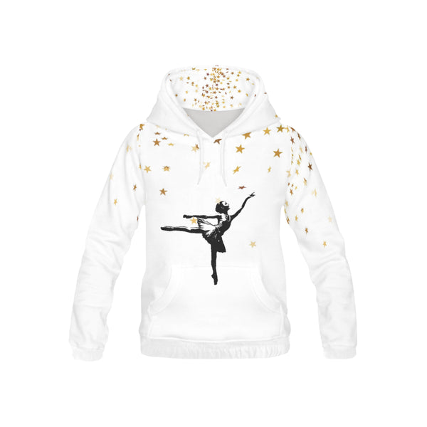 Dancer starburst, All Over Print Hoodie-[stardust]