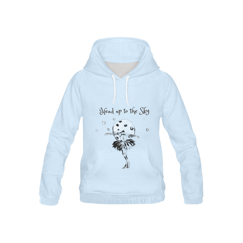 Head Up to the sky, All Over Print Hoodie, 4 color variations-[stardust]