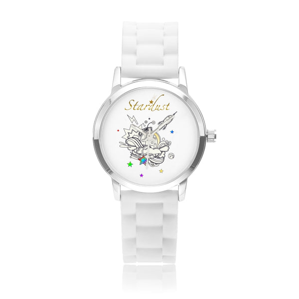 Cosmic Silica Gel Watch in Variant colors-[stardust]