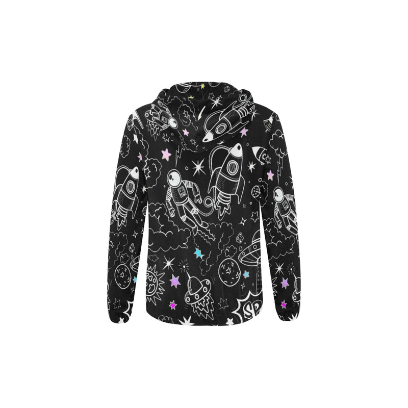 Ultra Galactic, All Over Print Hoodie with Zipper-[stardust]