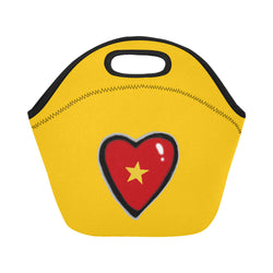 Hearty Lunch Bag in Black or Yellow