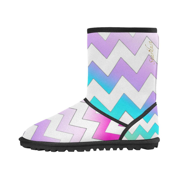 Chevron Winter Boots -[Stardust]